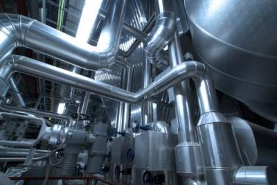 Steam turbine in power plant