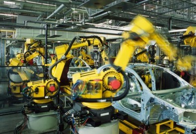 Automotive assembly line robot
