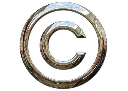 Copyright symbol: metaphor for IP Monetization