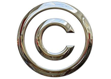 Copyright symbol: metaphor for IP Monetization