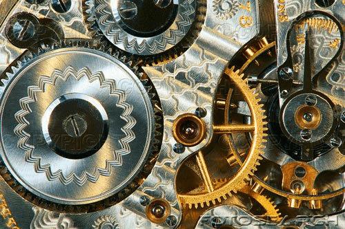 Inner workings of a watch