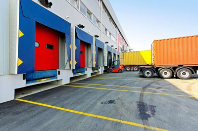 Trucking loading dock
